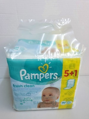 PAMPERS LINGETTES HUMIDES 64 PCS