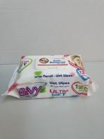 BIVY LINGETTES HUMIDES ANTI-BACTERIES ULTRA SOFT 120 PCS
