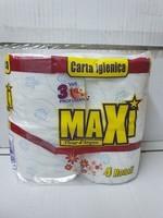 MAXI PAPER WC 4 RLX 3 PLIS PARFUME FLEUR D'ARGAN