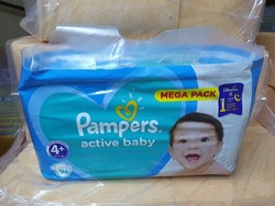 PAMPERS N°4+ 96 PCS
